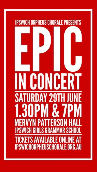 Epic in Concert - Blockbuster Musical Excerpts