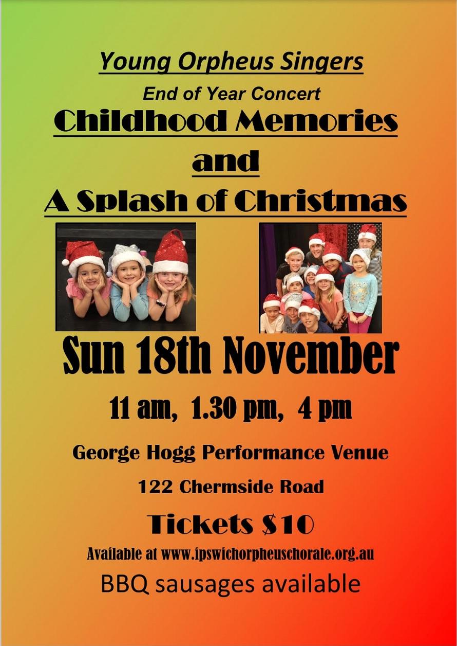 Childhood Memories and a splash of christmas